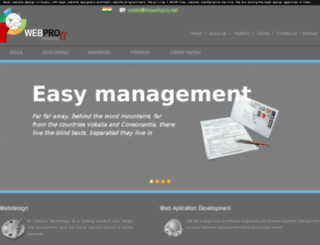webpro.co.in screenshot