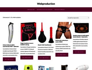 webproduction.sk screenshot