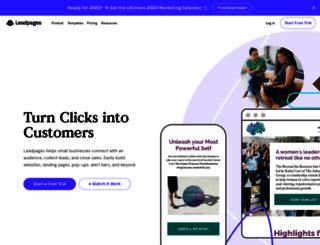 webprofit.leadpages.net screenshot