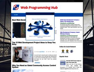 webprogramminghub.blogspot.com screenshot