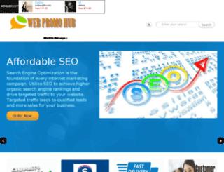 webpromohub.com screenshot