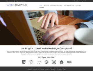 webproventus.com screenshot