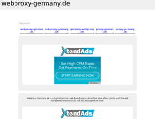 webproxy-germany.de screenshot
