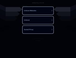 webproxy.com.de screenshot