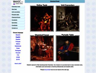webqc.org screenshot
