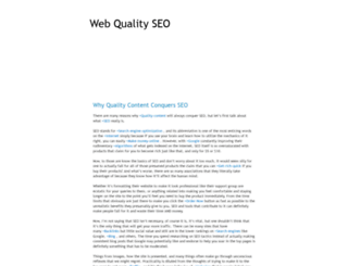 webqualityseo.blogspot.pt screenshot