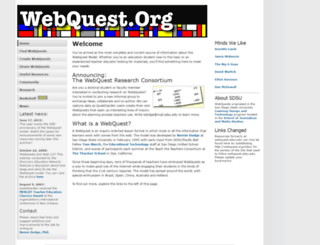 webquest.org screenshot