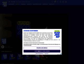 webradio.harmonyfm.de screenshot