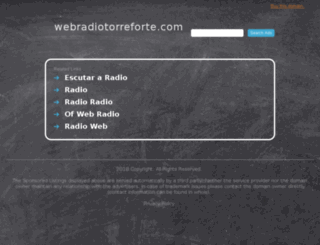 webradiotorreforte.com screenshot