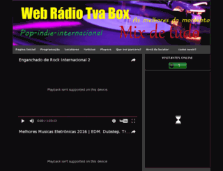 webradiotvabox0.blogspot.com.br screenshot