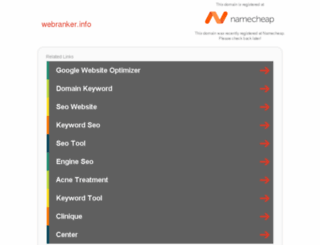 webranker.info screenshot