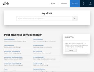 webreg-portal.dk screenshot