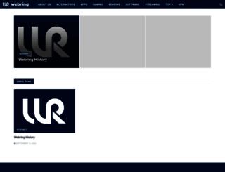 webring.com screenshot