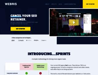 webris.org screenshot