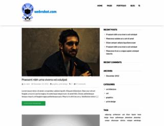 webrobot.com screenshot