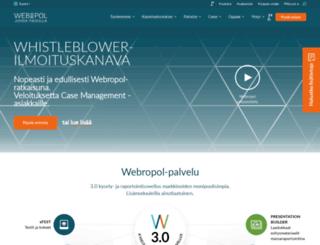 webropol.fi screenshot