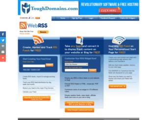 webrss.com screenshot