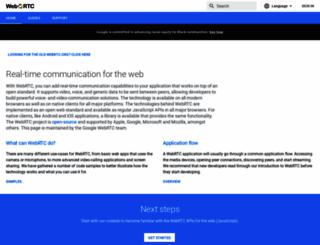 webrtc.org screenshot