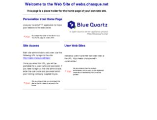 webs.chasque.net screenshot