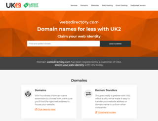 websdirectory.com screenshot