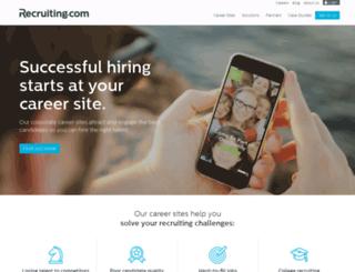 websearch.recruiting.com screenshot