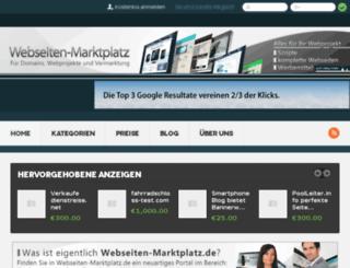 webseiten-marktplatz.de screenshot