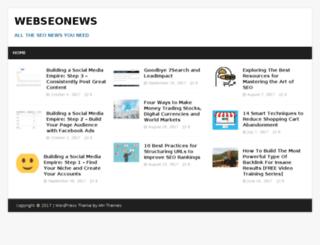 webseonews.com screenshot