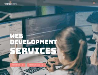 webserv.com.au screenshot
