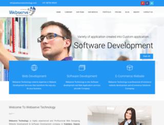 webservetechnology.com screenshot
