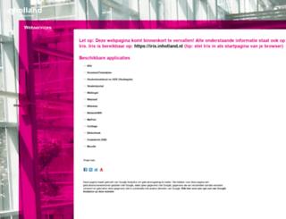 webservices.inholland.nl screenshot
