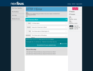 webservices.nextbus.com screenshot