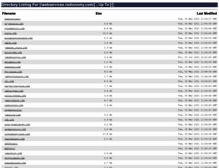 webservices.radionomy.com screenshot