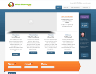 webservicesplus.com.au screenshot