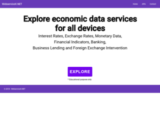 webservicex.net screenshot
