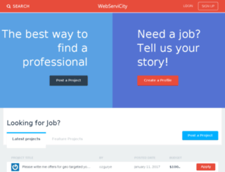 webservicity.com screenshot
