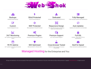 webshok.com screenshot