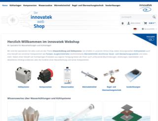 webshop-innovatek.de screenshot