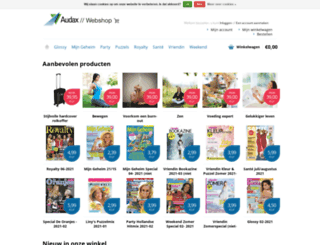 webshop.audaxpublishing.nl screenshot