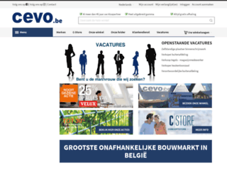 webshop.cevo.be screenshot