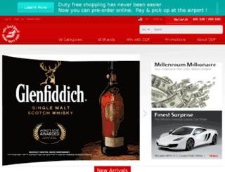 webshop.dubaidutyfree.com screenshot