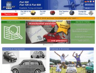 webshop.fiat500126.com screenshot