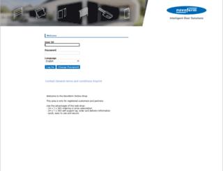 webshop.novoferm.com screenshot