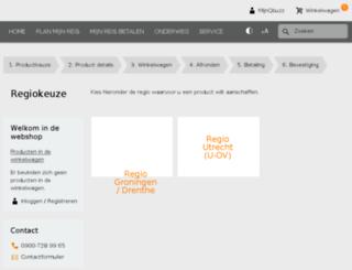 webshop.qbuzz.nl screenshot
