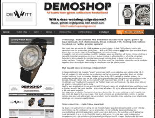 webshopdesigner.nl screenshot