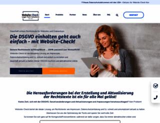 website-check.de screenshot