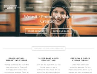 website-promotion.ca screenshot