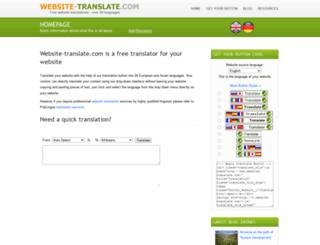 website-translate.com screenshot