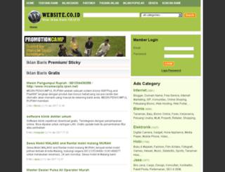 website.co.id screenshot