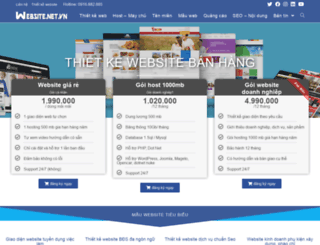 website.net.vn screenshot
