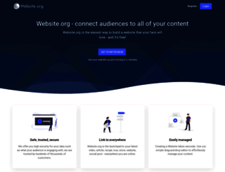 website.org screenshot